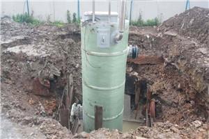 雷竞技app苹果版一体式污水泵站